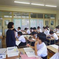 国語の授業~調査記録の性質を捉えよう~