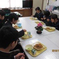 3年生との卒業会食 二日目