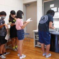 なかよし集会のリハーサル~人権児童集会~(9月15日)