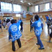 4年生総合的な学習の時間~利根町地固め唄練習第2回目~(10月22日)